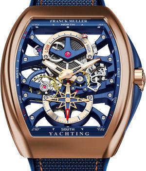 V 45 S6 PR SQT ANCRE FM YACHT 5N Franck Muller Vanguard Yachting