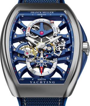 V 45 S6 PR SQT ANCRE FM YACHT OG Franck Muller Vanguard Yachting