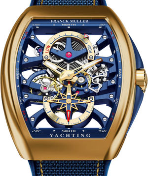 V 45 S6 PR SQT ANCRE FM YACHT 3N Franck Muller Vanguard Yachting