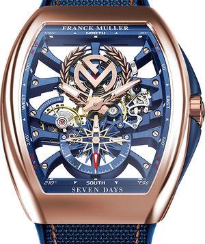 V 45 S6 SQT ANCRE FM YACHT 5N Franck Muller Vanguard Yachting