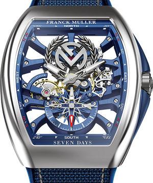 V 45 S6 SQT ANCRE FM YACHT OG Franck Muller Vanguard Yachting