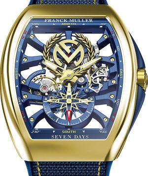 V 45 S6 SQT ANCRE FM YACHT 3N Franck Muller Vanguard Yachting