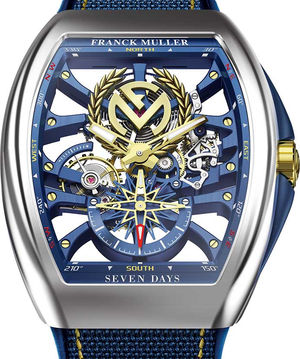 V 45 S6 SQT ANCRE FM YACHT AC Franck Muller Vanguard Yachting