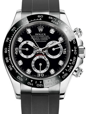 Rolex Cosmograph Daytona 116519LN Black set with diamonds