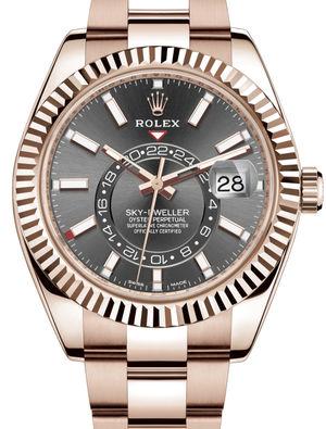 326935 Dark rhodium Rolex Sky-Dweller