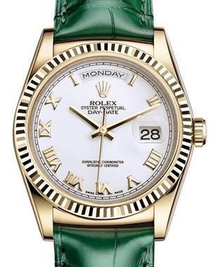 118138 White Roman Rolex Day-Date 36
