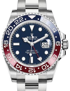 126719BLRO Blue Rolex GMT-Master II