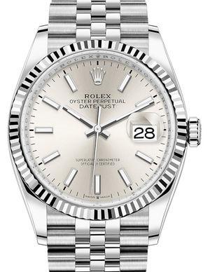 126234 Silver Rolex Datejust 36