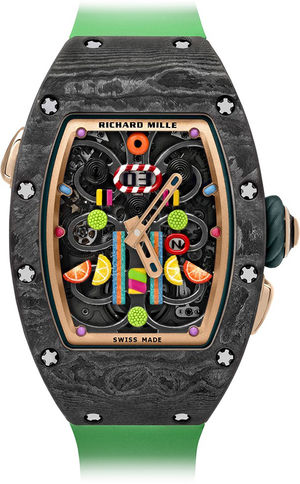 RM 37-01 Kiwi Richard Mille Bonbon Collection