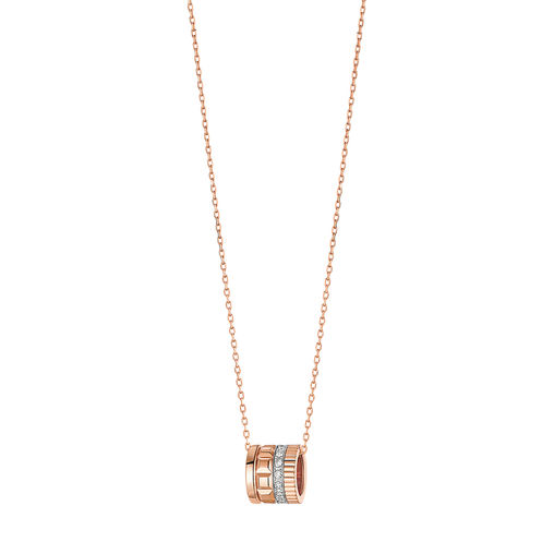 JPN00545 Boucheron часы Pave diamonds, in pink gold