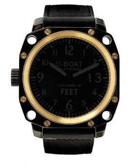 5388 U-Boat Gold Watches