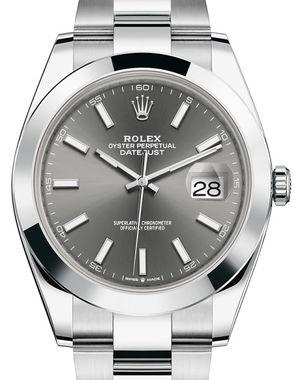 Rolex Datejust 41 126300 Dark rhodium