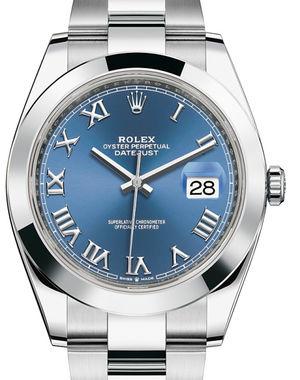 Rolex Datejust 41 126300 Blue Roman