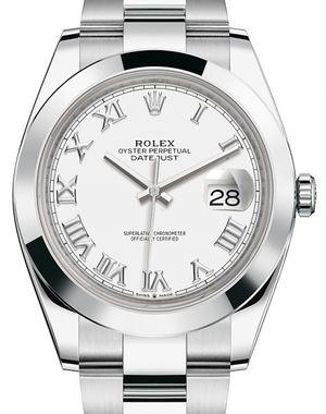 Rolex Datejust 41 126300 White Roman