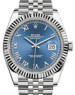 Rolex Datejust 41 126334 Blue Roman