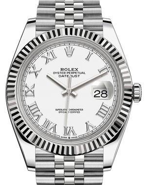 Rolex Datejust 41 126334 White Roman