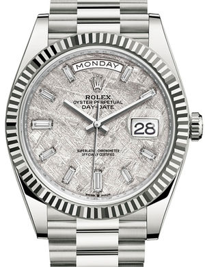 Rolex Day-Date 40 228239 Meteorite set with diamonds