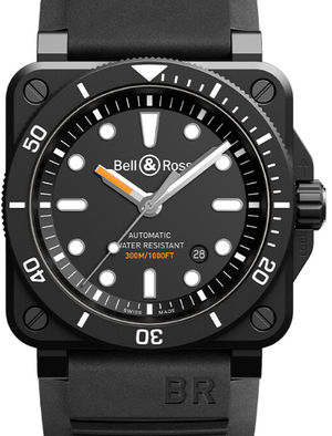 Bell & Ross BR 03-92 BR0392-D-BL-CE/SRB