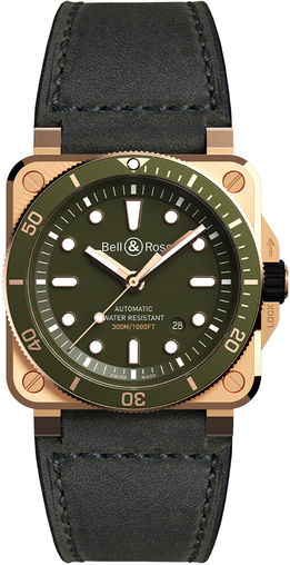 BR0392-D-G-BR/SCA Bell & Ross BR 03-92