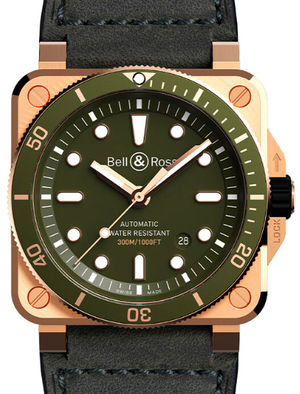 Bell & Ross BR 03-92 BR0392-D-G-BR/SCA