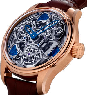 TTR3 Chronometer Pink gold 3 Meteorite Masselottes Antoine Preziuso Master Exclusive Creations