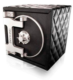 Döttling Colisimo Quilted Black Leather TIME MOVER и Сейфы Luxury safe