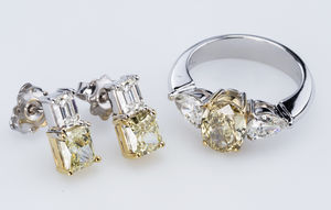 кольцо и серьги Gioielleria Currado Anello