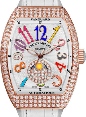 V 32 SC AT 5N FO L D CD Franck Muller Vanguard Lady Automatic