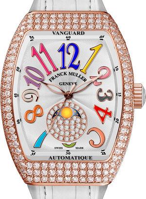 V 32 SC AT 5N FO L D CD Franck Muller Vanguard Lady Automatic