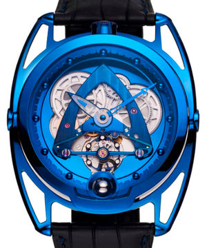 Steel Wheels Blue De Bethune DB28