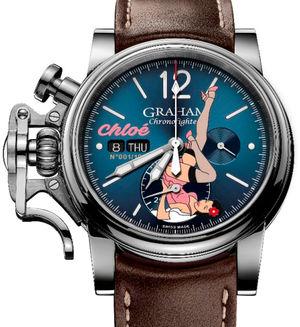 2CVAS.U10A Graham Chronofighter Vintage