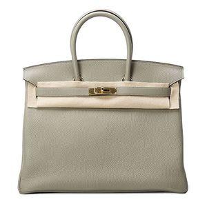 Birkin 35 Sauge Hermès Bag