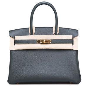 Birkin 30 Vert Fonce Hermès Bag