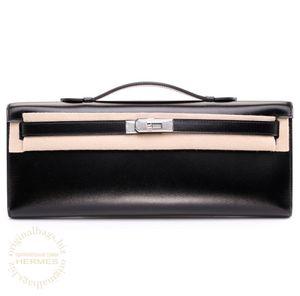 Kelly Cut Black Hermès Bag