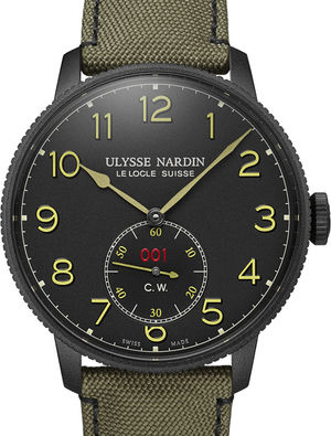 1183-320LE/BLACK Ulysse Nardin Marine Chronometer