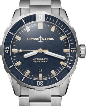 8163-175-7M/93 Ulysse Nardin Diver