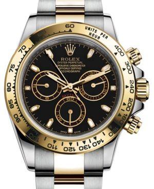 116503 Black USED Rolex Cosmograph Daytona