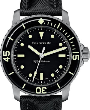5015E 1130 B52A Blancpain Fifty Fathoms