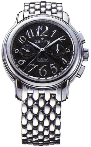 03.1230.4002/21.m1230 Zenith Star Ladies