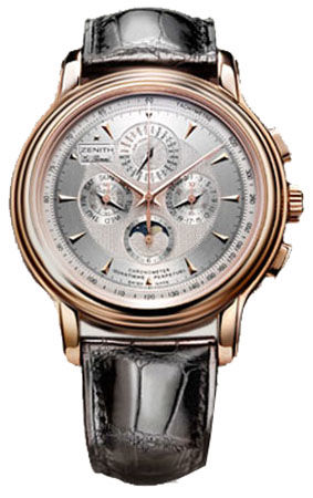 18.1260.4003/01.c505 Zenith Chronomaster Old model