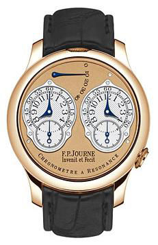 chronometre a resonance rg leather F.P.Journe Souveraine