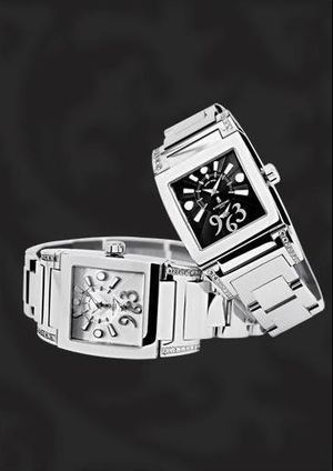 N02 de Grisogono Instrumentino Steel & Diamonds Ladies