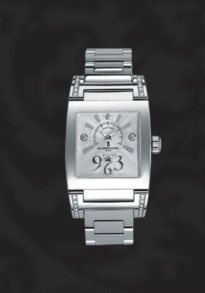 N05 de Grisogono Instrumentino Steel & Diamonds Ladies