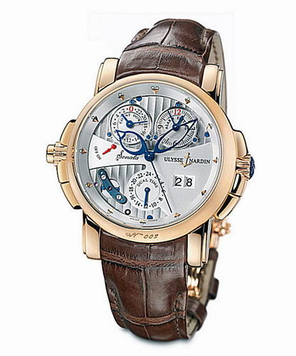 676-88 Ulysse Nardin часы Cathedral Dual Time