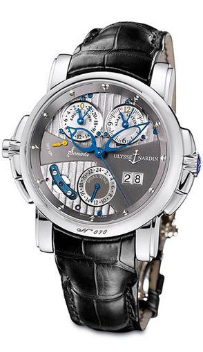 670-88/212 Ulysse Nardin часы Cathedral Dual Time