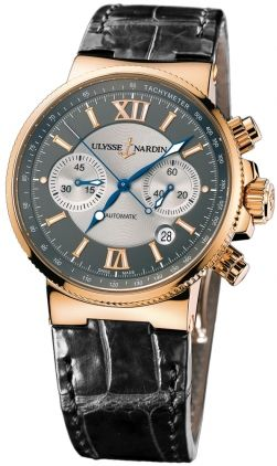 Ulysse Nardin Marine Chronograph 356-66/319