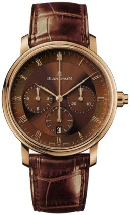 Blancpain Villeret Chronograph 6185-3646-55b