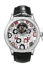 Van Cleef & Arpels Poetic Complications® Midnight Tourbillon Jardins Suspendus