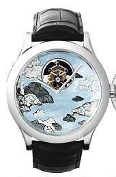 Van Cleef & Arpels Poetic Complications® Midnight Tourbillon Lac