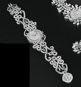 Van Cleef & Arpels High Jewelry Watches Dentelle